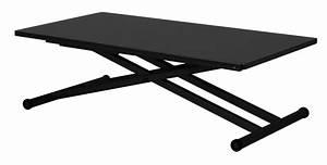 Table Basse Transformable En Table Haute : table basse haute gain de place ~ Teatrodelosmanantiales.com Idées de Décoration