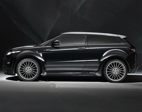 land rover range rover evoque coupe range rover evoque coupe tuned by hamann motorsport