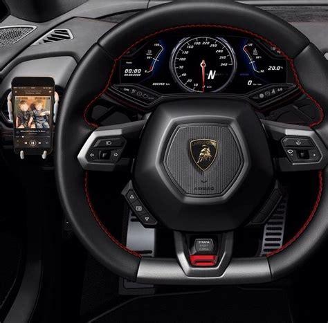 volante lamborghini volante lamborghini coches lamborghini interior