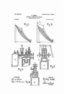 Patent Us608845 - Internal-combustion Engine