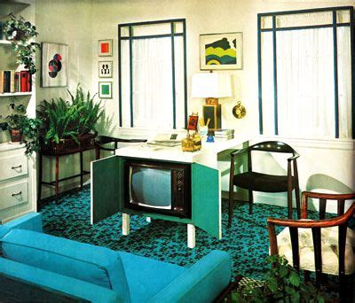 retro home style 70s home decor television and retro style on pinterest
