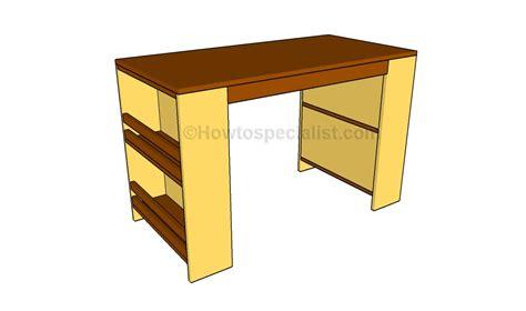 plans youth desk plans  simple park bench