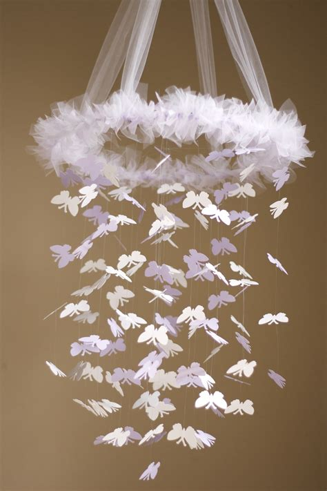 simply lavender butterfly chandelier kit diy great craft