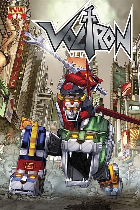 voltron dynamite comic comics vs entertainment lion returns gigan series force defenders deadpool december golion chen four universe roundup dimension