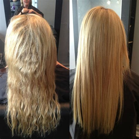keratin protein hair treatment