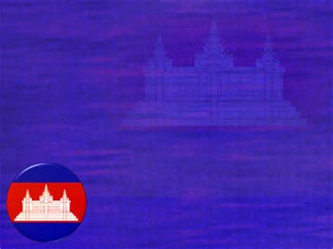 cambodia flag  powerpoint templates
