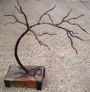 Small Metal Tree Sculpture
