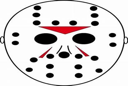 Jason Pumpkin Mask Scary Stencils Voorhees Templates