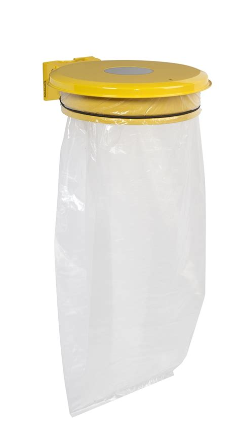 support sac poubelle cuisine support sac poubelle avec trappe jaune rossignol prix