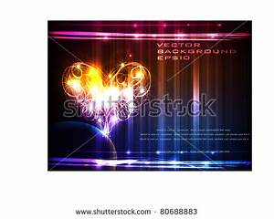 Fireworks Heart Shaped Stock Royalty Free