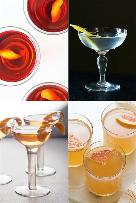 easy cocktail recipes popsugar food