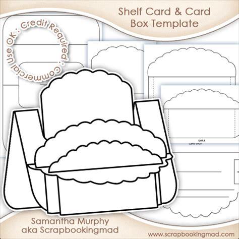 on the shelf template large shelf card card box template commercial use ok 163 3 50 scrapbookingmad