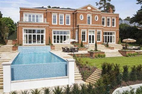 modern millionaires mansion  bedroom weybridge