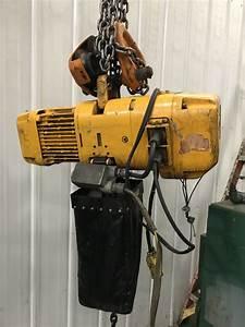 2 Ton Harrington Chain Hoist  Stock  65808