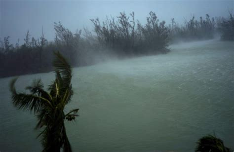 hurricane dorian triggers massive flooding  bahamas