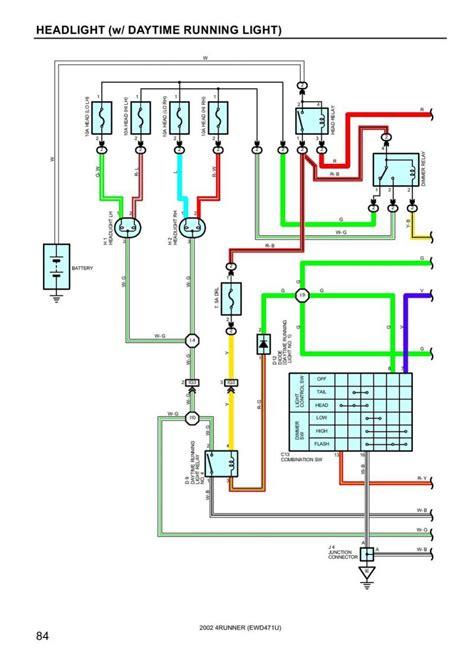 Toyotum 4runner Wiring Schematic by Creative Drl Light Wiring Diagram Headlight Issue