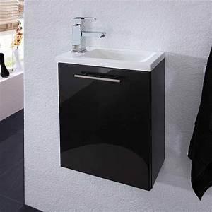 Waschbecken Gäste Wc : g ste wc waschtisch valbern in anthrazit ~ Watch28wear.com Haus und Dekorationen