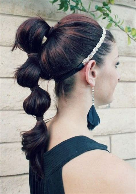 trend   sectioned ponytails pretty designs