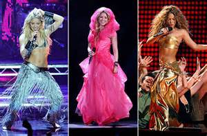 Shakira's 20 Hottest Stage Outfits   Billboard