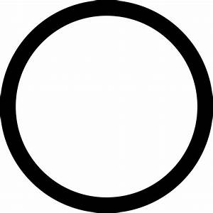 Circle Outline Svg Png Icon Free Download   34467