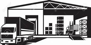 Warehouse clipart black and white - Pencil and in color ...
