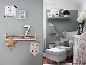 Salbei Farbe Wand : farbfreude salbei im kinderzimmer kolorat ~ Michelbontemps.com Haus und Dekorationen