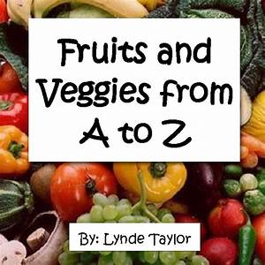 Recipe Journal Template Fruits And Vegetables From A To Z Book 55468 Bookemon