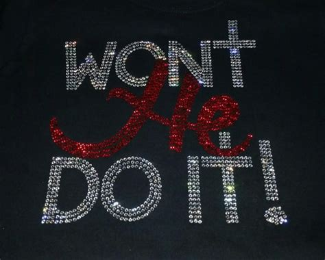 large rhinestone covered 30 30th won t he do it bling bling tshirt special ends april 30th