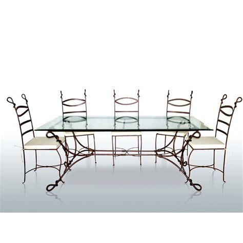 Structure De Table En Fer Forgé Cabras  Mobilier Classique