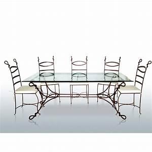 Table Basse Fer Forgé : table basse fer forge maison design ~ Teatrodelosmanantiales.com Idées de Décoration