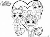 Lol Doll Dolls Coloring Pages Printable Cute Paper Baby Colouring Drawing Ausmalbilder Boys Info Lols Surprise Schildkroete Bild Frisch Painting sketch template