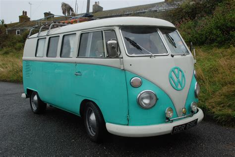 In A 65 Vw Campervan To Cornwall…bass Fishing