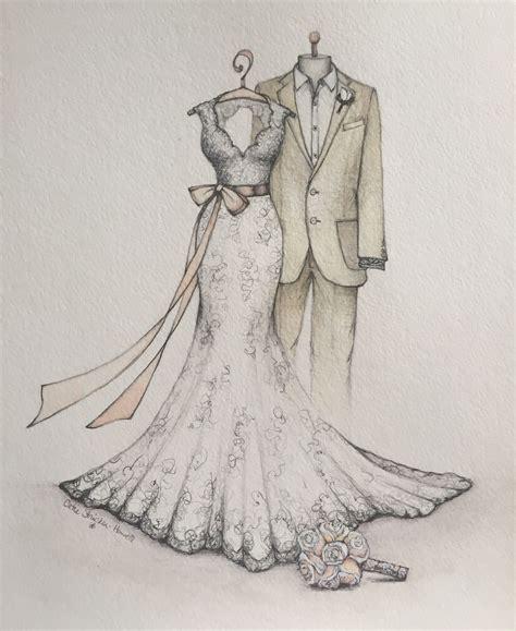Testimonials - Dreamlines Wedding Dress Sketch