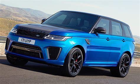Range Rover Sport Svr Facelift 2017 Preis Autozeitung De