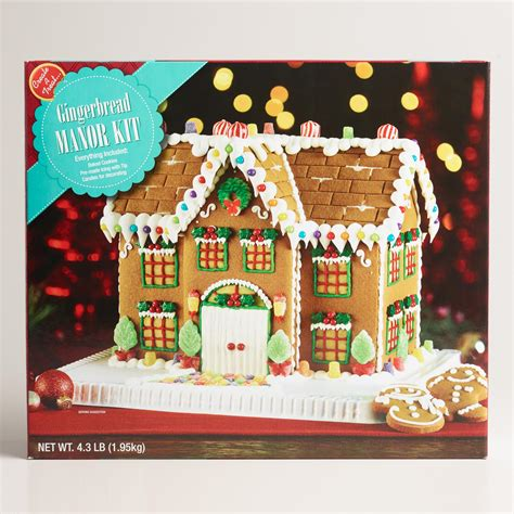 manor gingerbread house kit world market