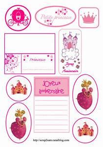 Etiquette Plaque Immatriculation : etiquettes gratuites t l charger et imprimer pour le scrapbooking th me princesse sam ~ Gottalentnigeria.com Avis de Voitures