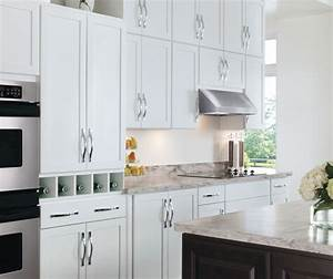 painted white kitchen cabinets aristokraft cabinetry With what kind of paint to use on kitchen cabinets for black and white photo wall art