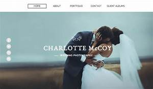 Photography website templates wix for Wedding photography website templates