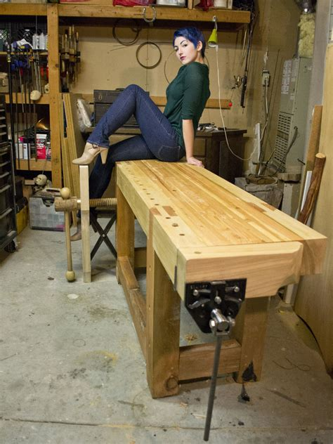 roubo style workbench  steps  pictures