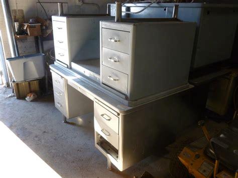 vintage metal desk for sale vintage steel desks for sale
