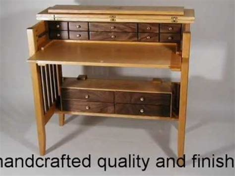 fly tying desk plans handcrafted fly tying desk