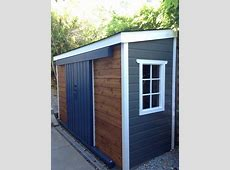 leaning shed, lean to shed, shed against fence, shed
