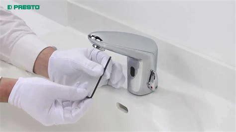 rubinetti fotocellula presto volta 174 sostituzione pila