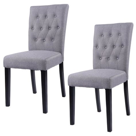 set   fabric dining chair armless chair home kitchen