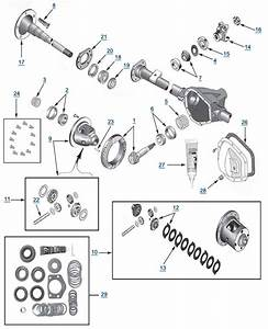 tj wrangler model 44 rear axle parts 4 wheel parts With front axle diagram additionally jeep wrangler tj front axle diagram