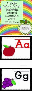 58 best prek letter walls images on pinterest With large alphabet letters for classroom wall