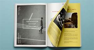 Psd Magazine Mockup View Vol3-2 Psd Mock Up Templates