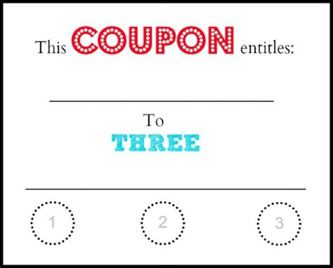07043 Make Your Own Coupons Free by Printable Babysitting Coupon Clipart Best
