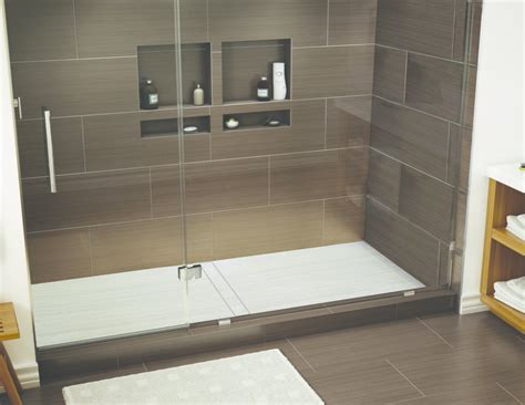 Onepiece Shower Pan For Larger Applications Qualified