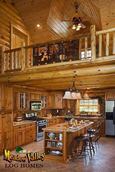 lofts  kitchen kitchen  sitting loft  log home kitchens